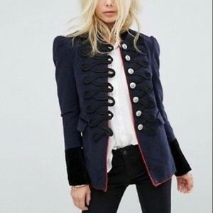 Free People Seamed and Structured jacket